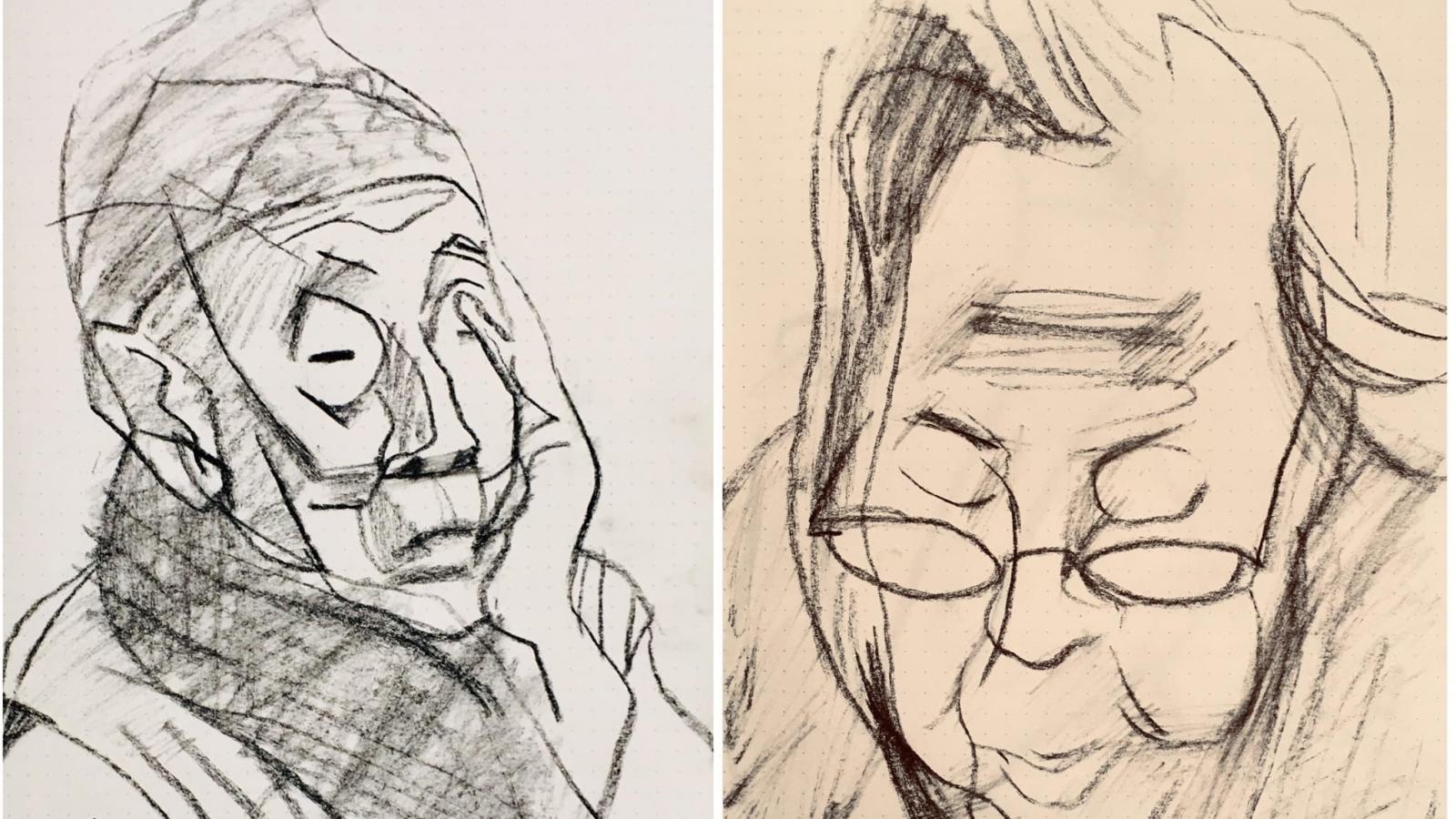 """Triển lãm """"Nét và Hình"""" của họa sĩ Nguyễn Dương Đính"""