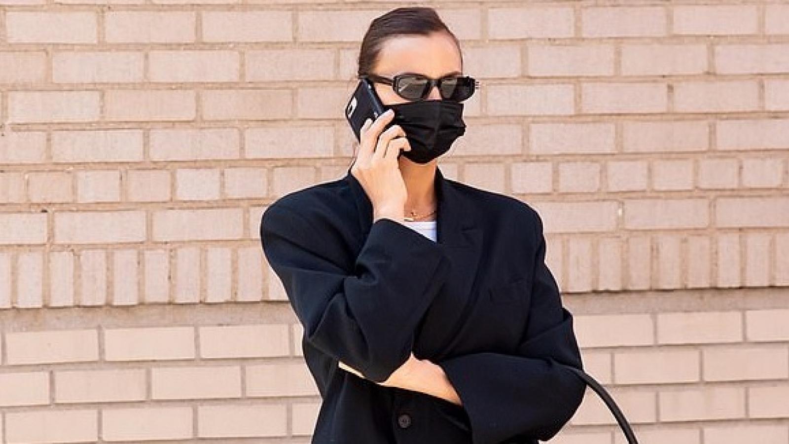 Siêu mẫu Irina Shayk thanh lịch ra phố