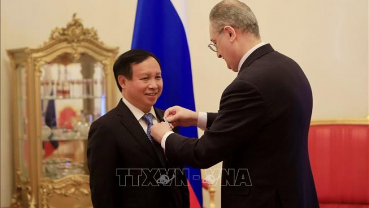 Vietnamese ambassador to Russia honoured with Friendship Order