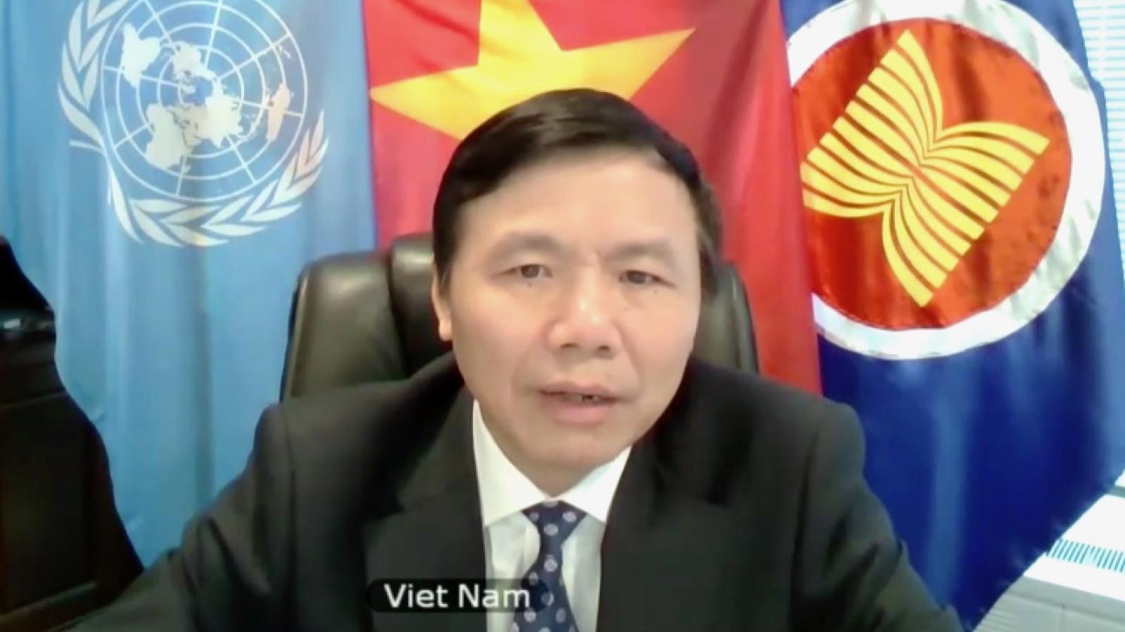 Việt Nam kêu gọi quốc tế hỗ trợ Myanmar chấm dứt bạo lực, ổn định tình hình