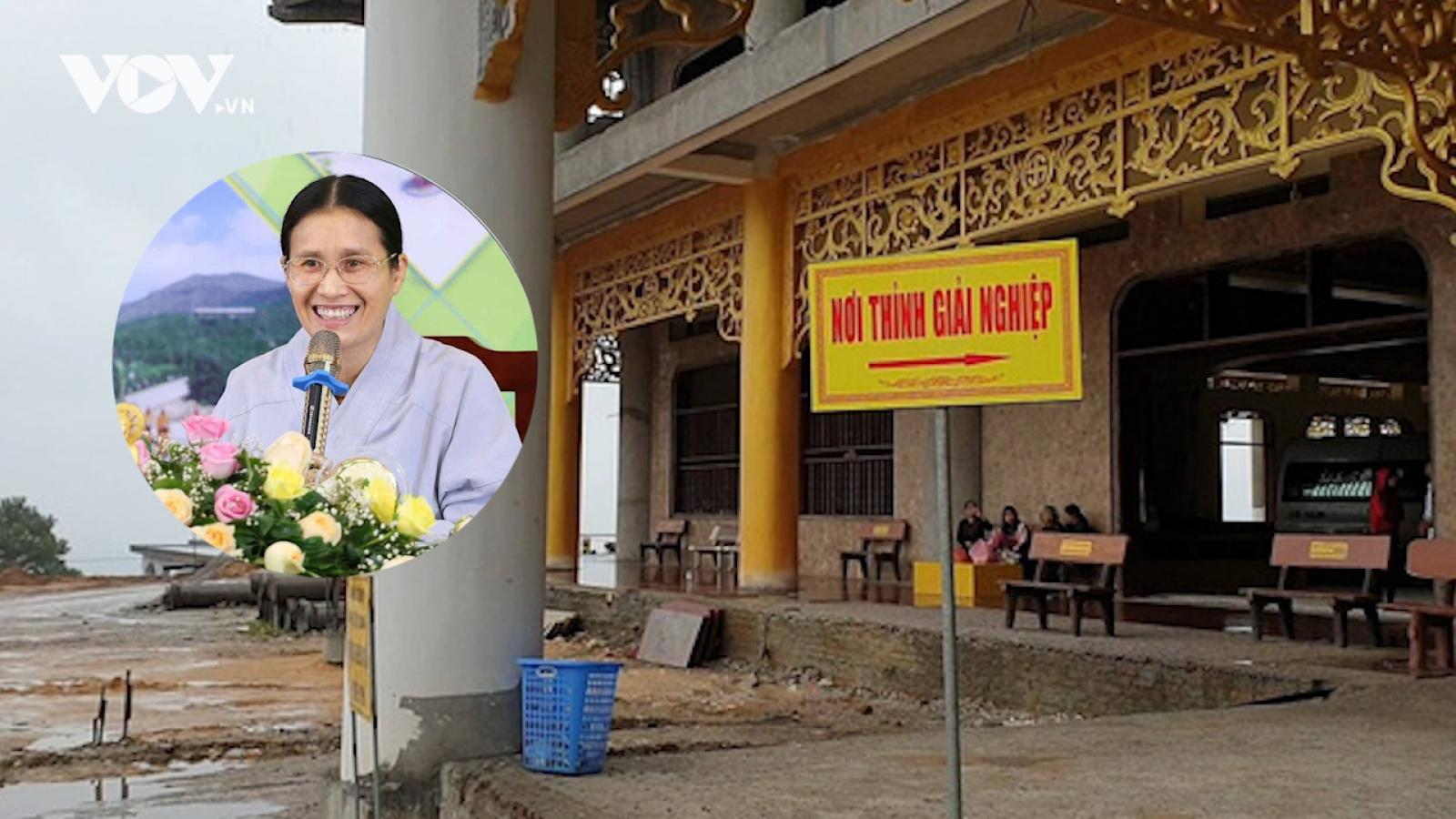 Bác đơn khởi kiện của bà Phạm Thị Yến liên quan tới việc thỉnh vong tại chùa Ba Vàng