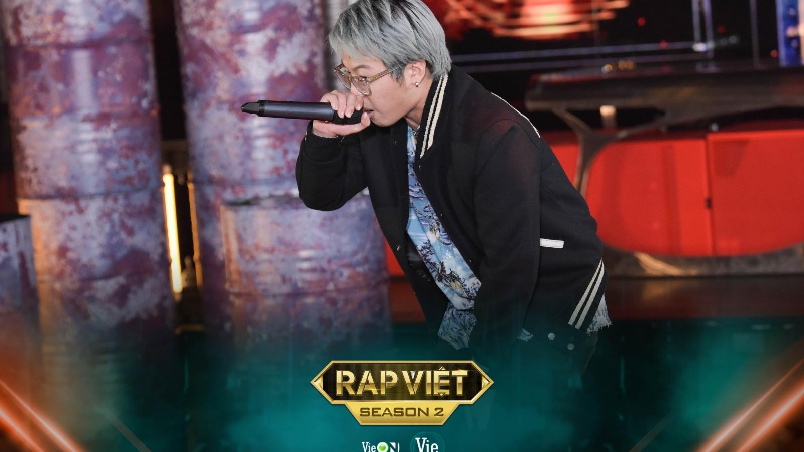 """Á quân """"King of Rap"""" bất ngờ tham gia vào đường đua Rap Việt-mùa 2"""