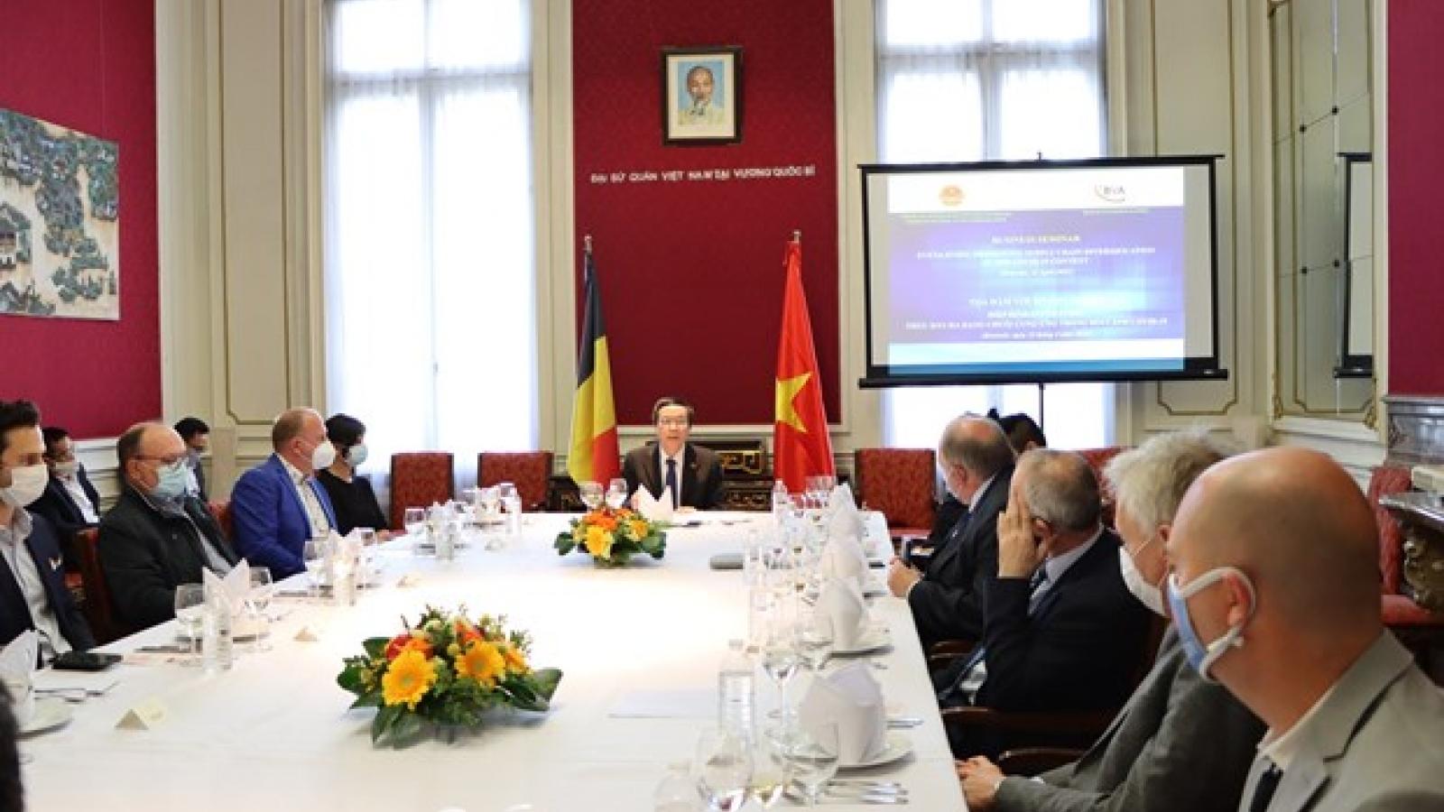 Belgian businesses keen on investing in Vietnam