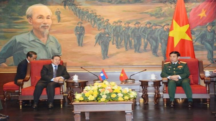 Vietnam strengthens defence cooperation with Laos, Cambodia, Russia
