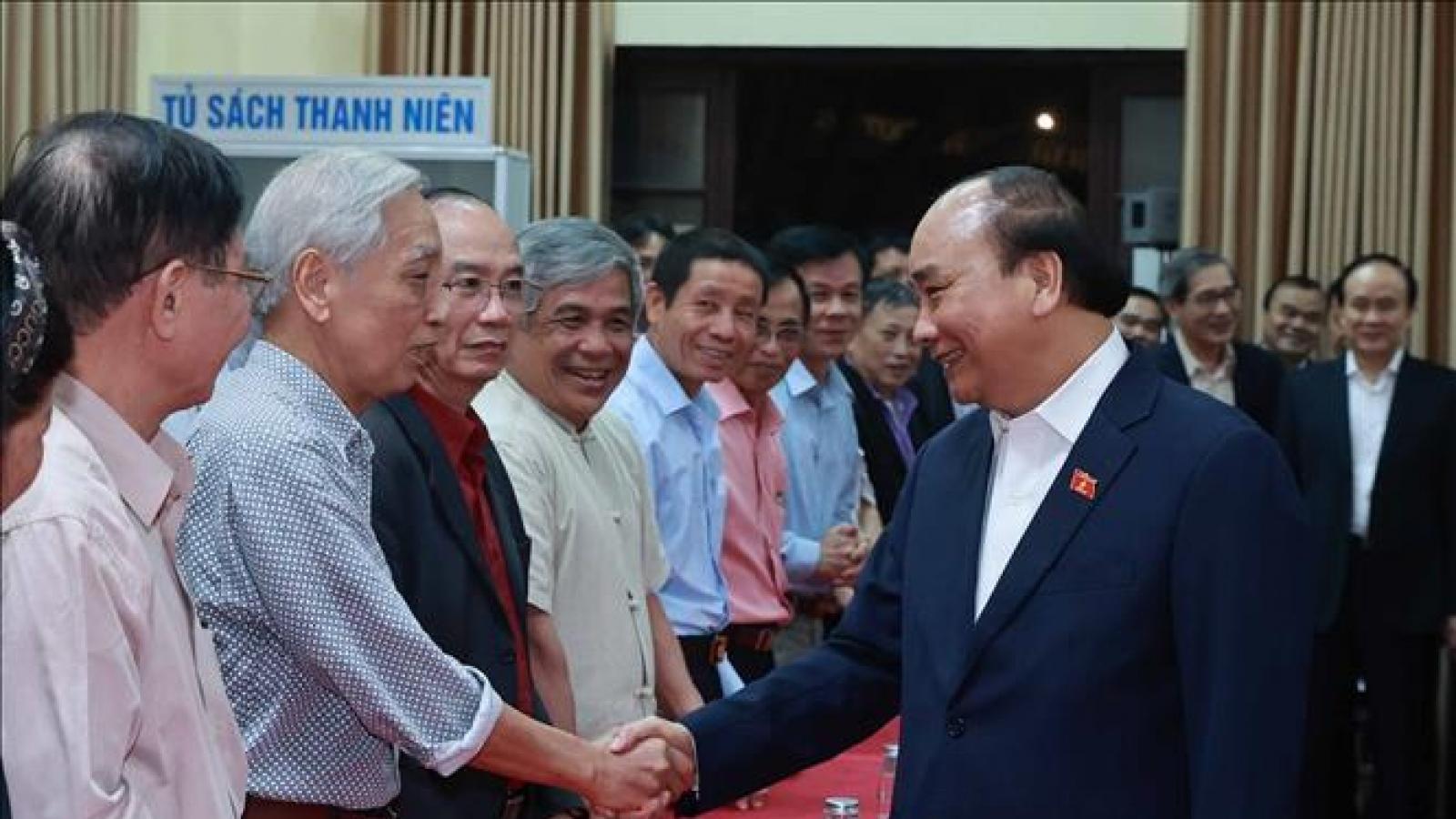 Cử tri nơi cư trú nhất trí cao giới thiệu Chủ tịch nước Nguyễn Xuân Phúc ứng cử ĐBQH