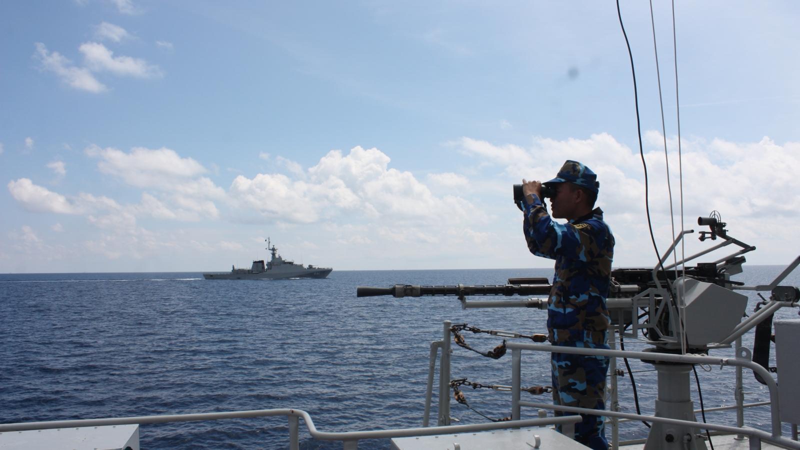"""Biên đội tàu Vùng 5 Hải quân: Tự hào """"nhịp cầu nối"""" tình hữu nghị trên biển"""