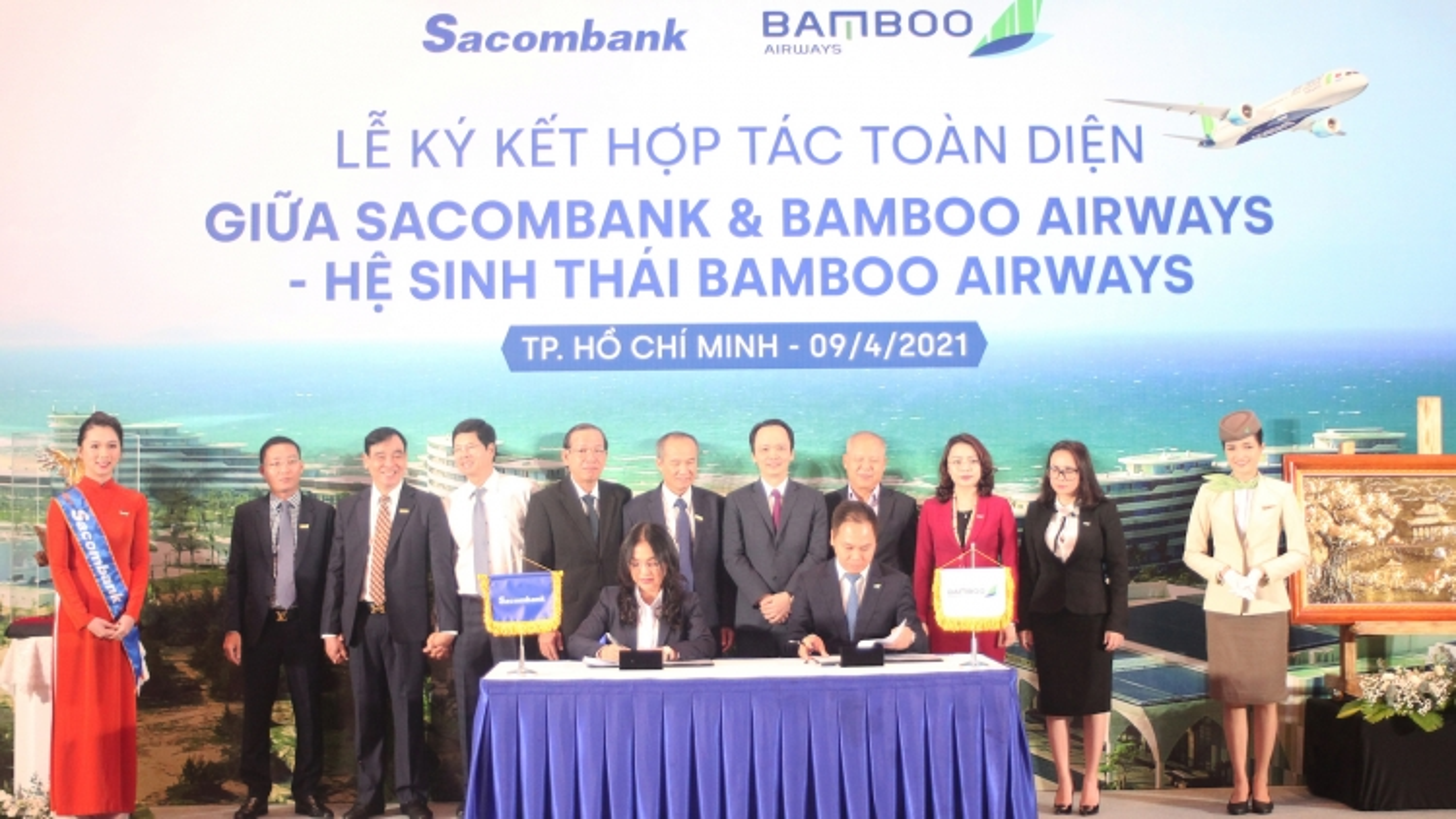 Sacombank và Bamboo Airways hợp tác toàn diện