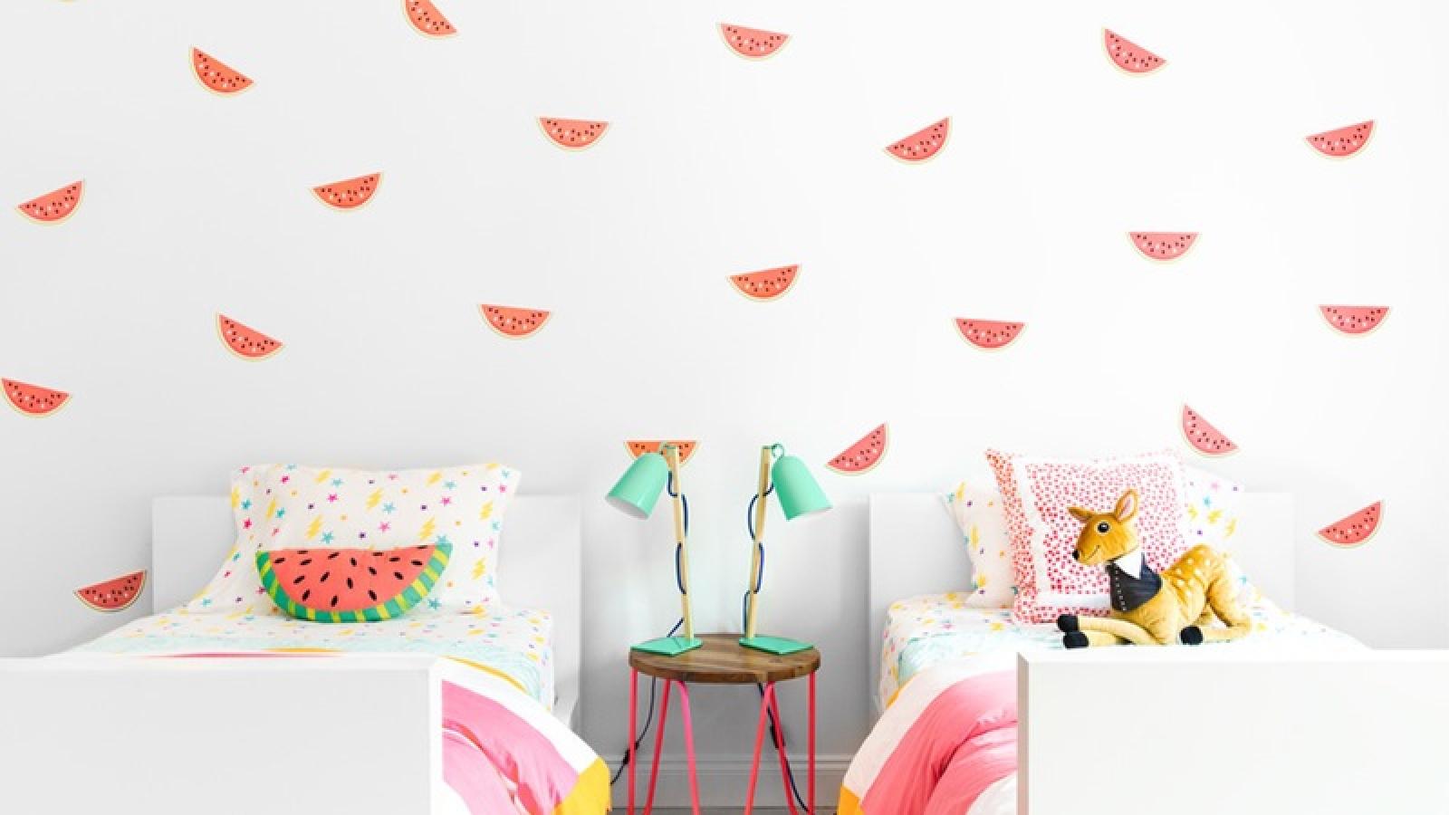 6 ý tưởng trang trí phòng của trẻ vừa đẹp lại an toàn