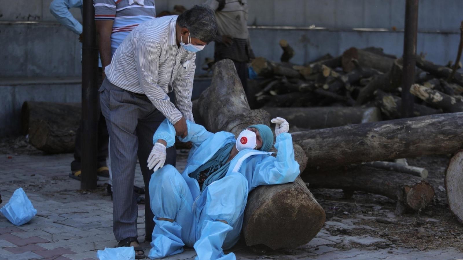 Mỹ: Ấn Độ có thể ghi nhận tới hơn 13.000 ca tử vong hàng ngày do Covid-19