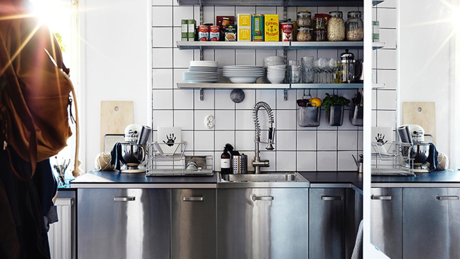 Những ý tưởng tổ chức nhà bếp gọn gàng và tiện dụng
