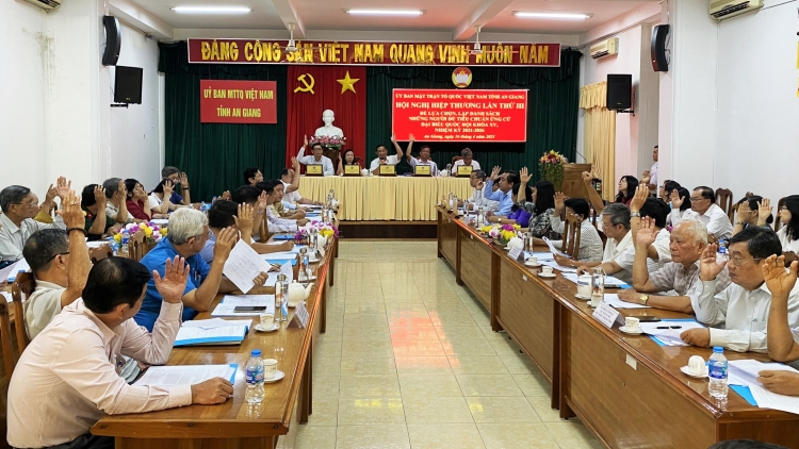 An Giang có 11 ứng cử viên đại biểu QH khóa XV, 103 ứng cử viên HĐND tỉnh
