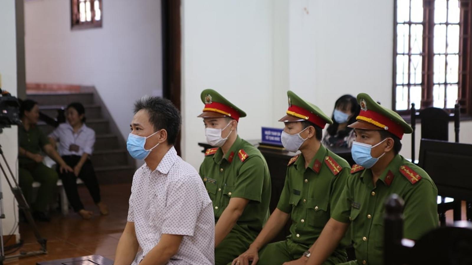 Lĩnh án tù vì xúc phạm lãnh đạo Đảng, Nhà nước
