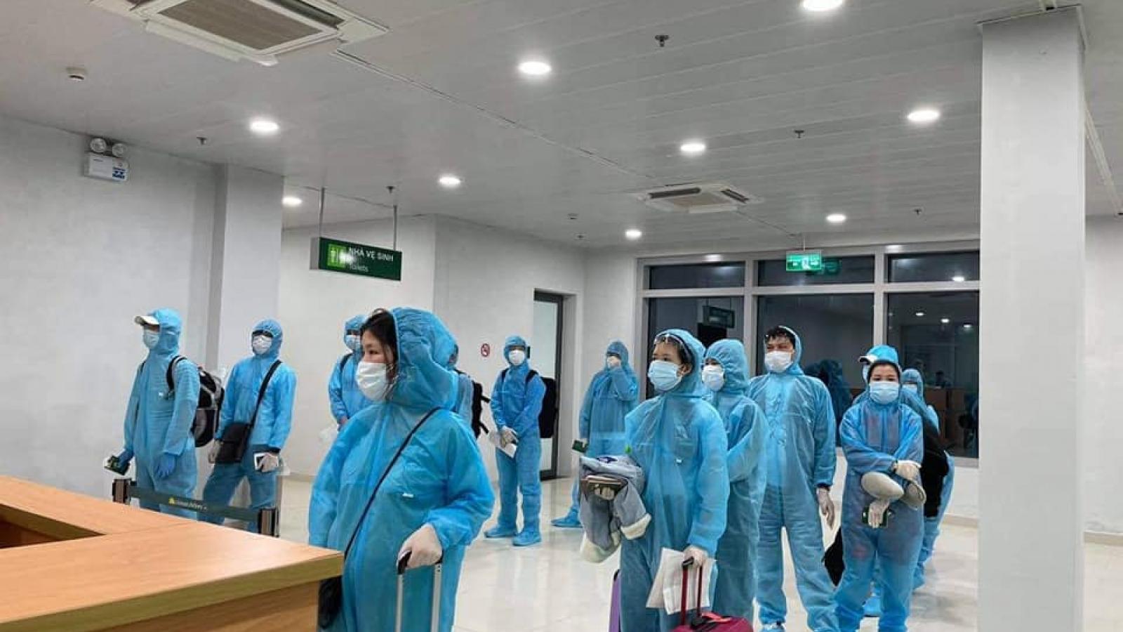 Hai người từ Nhật Bản về được cách ly tại Nghệ An dương tính với SARS-CoV-2