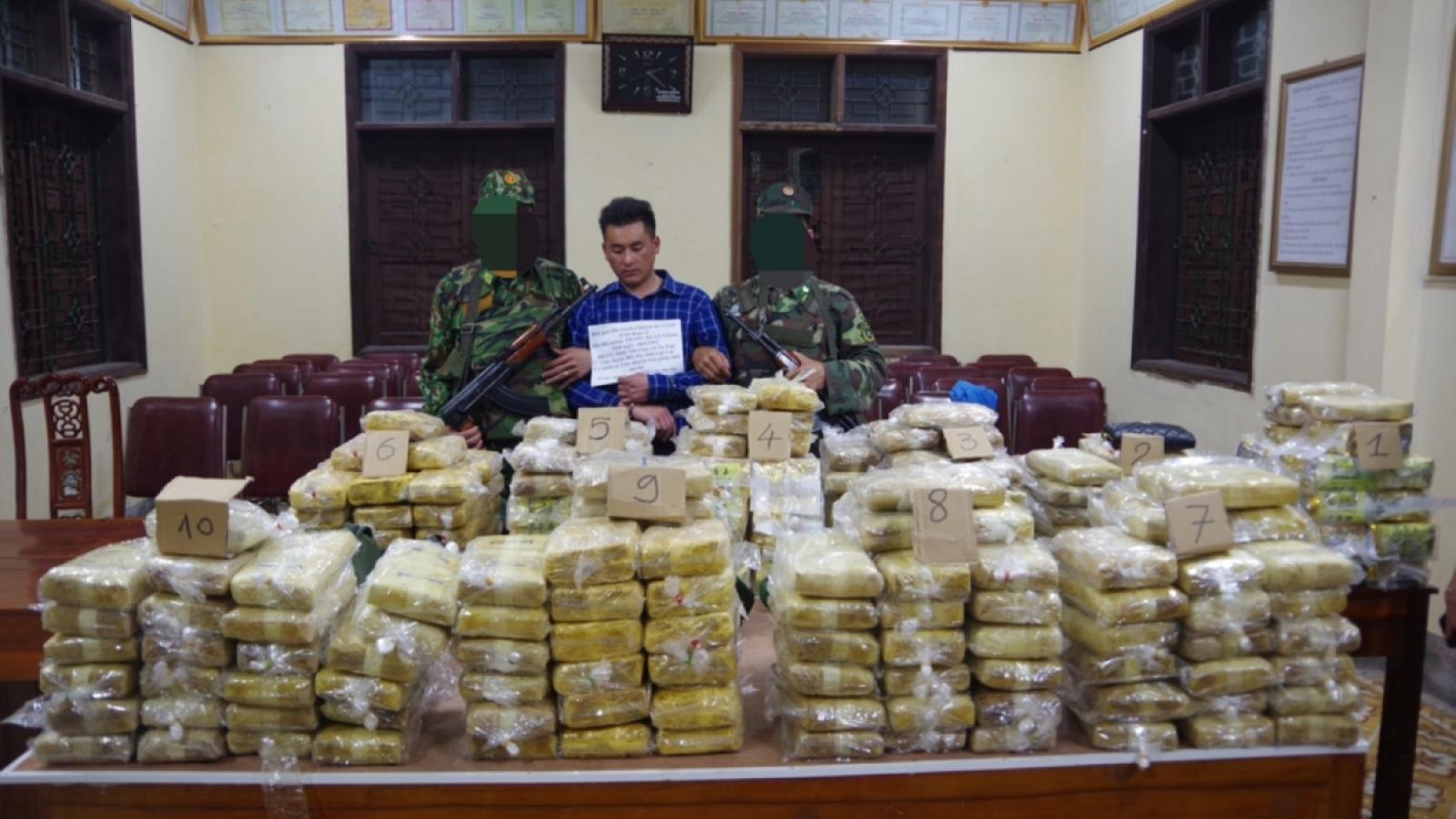 Police seize 350kg of drugs in bust of transnational drug ring
