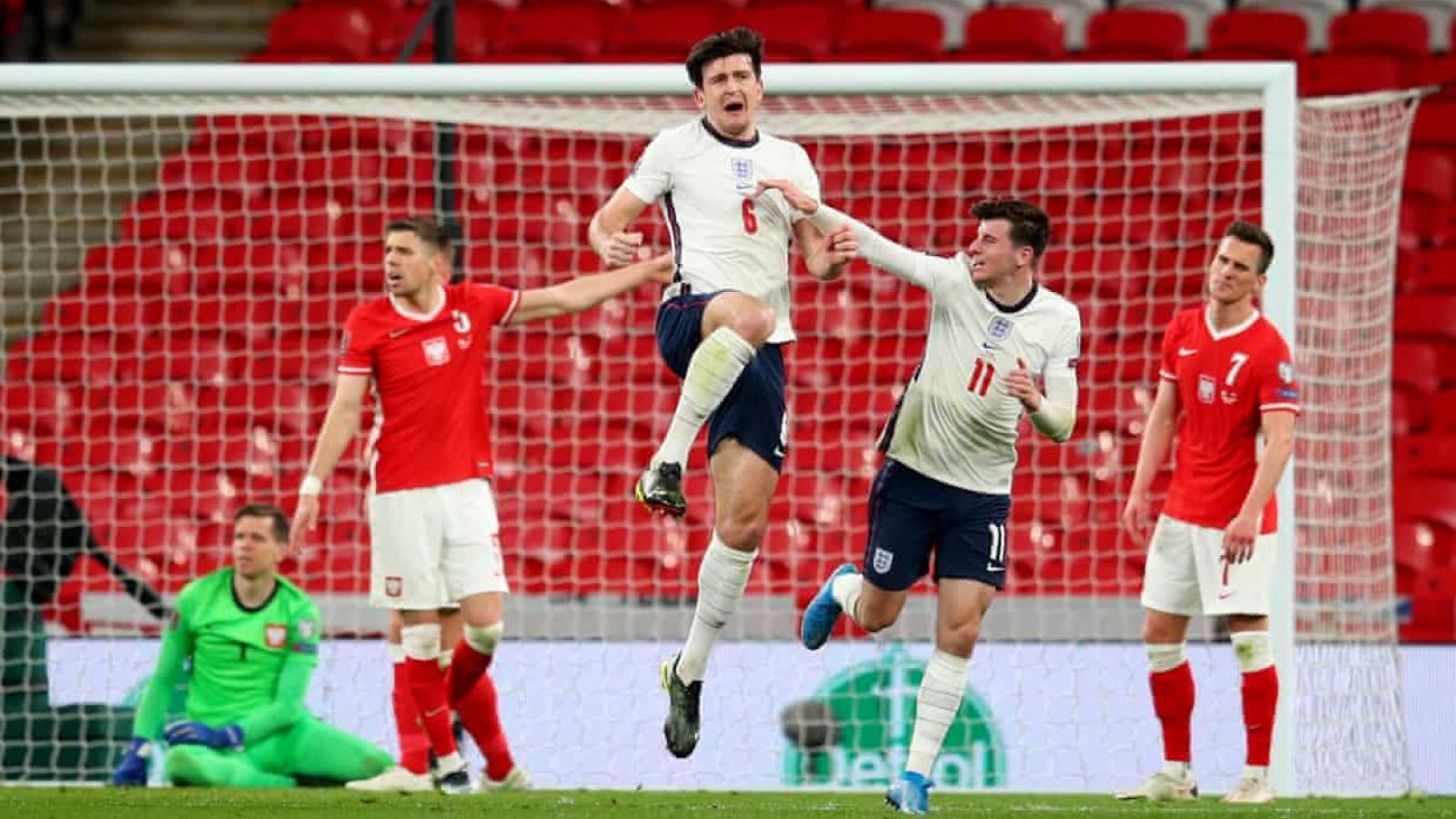 Harry Maguire lập công, ĐT Anh thắng nghẹt thở Ba Lan