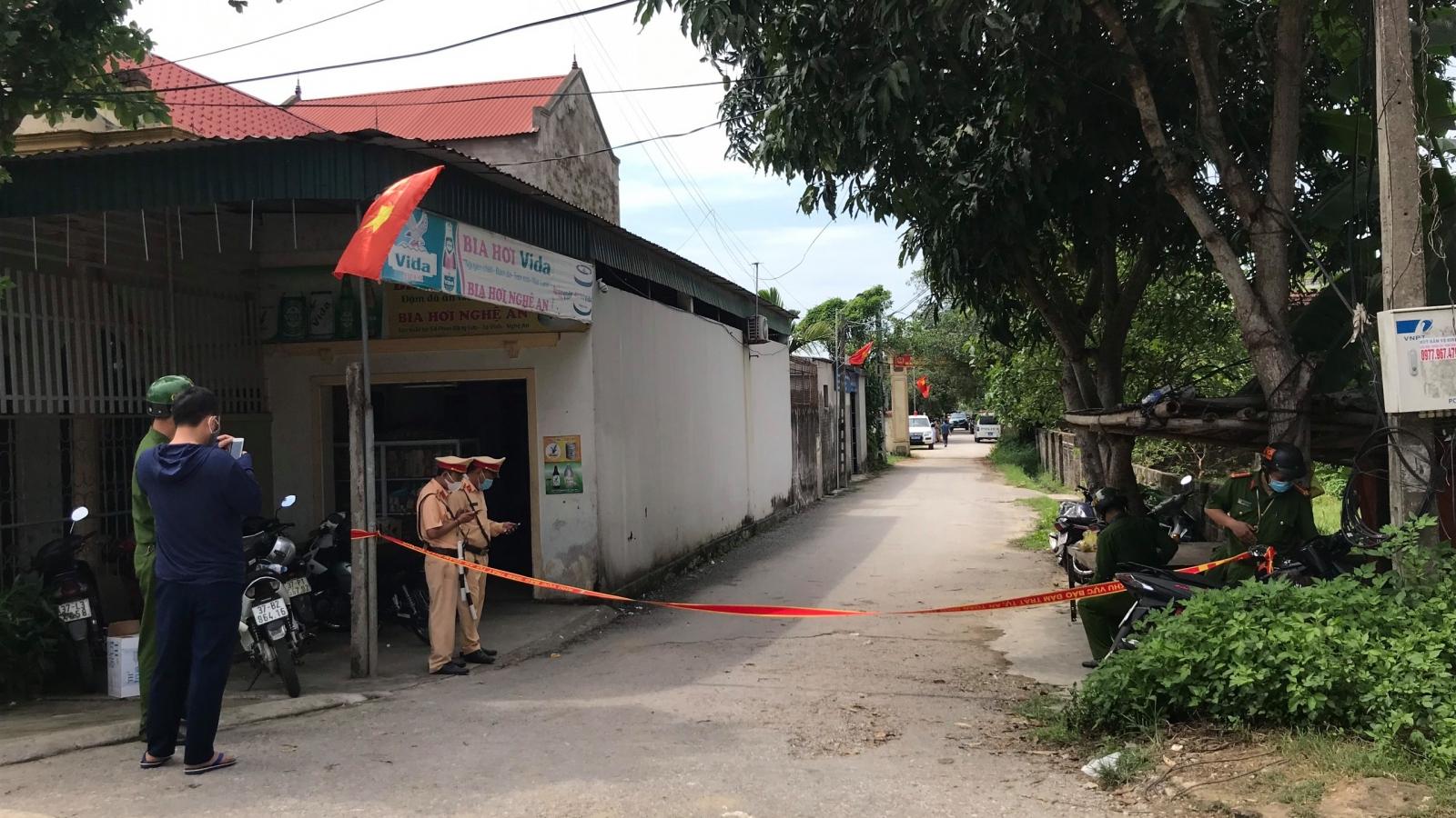 Thông tin bất ngờ về nghi phạm bắn gục 2 người ngay trước cổng nhà ở Nghệ An