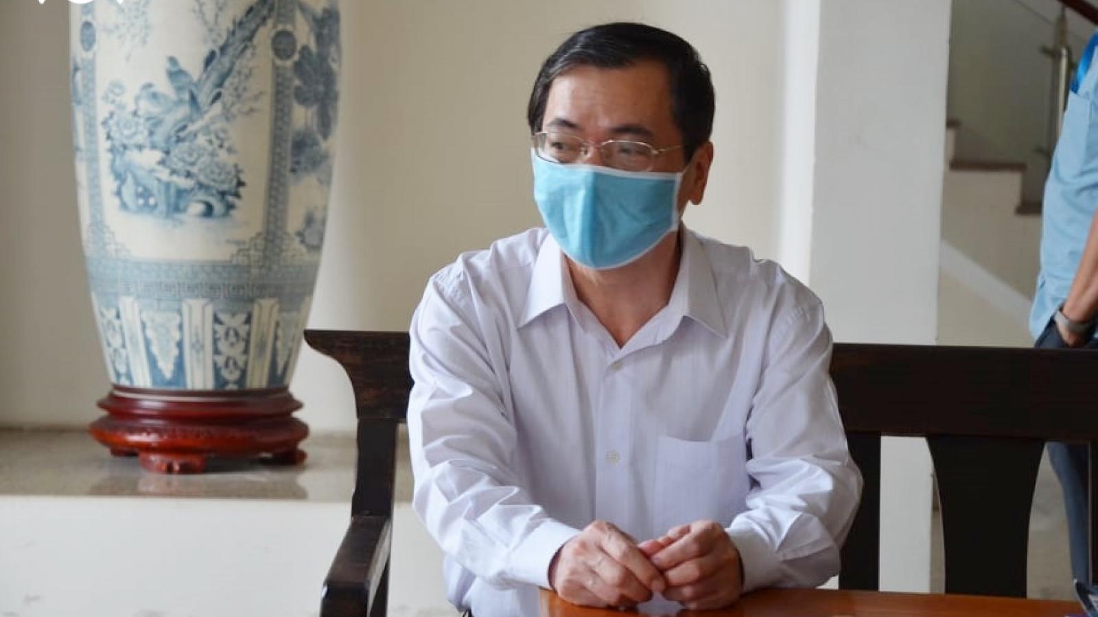 """Bị cáo Vũ Huy Hoàng xin ngồi hầu tòa vì """"đang mắc rất nhiều bệnh"""""""