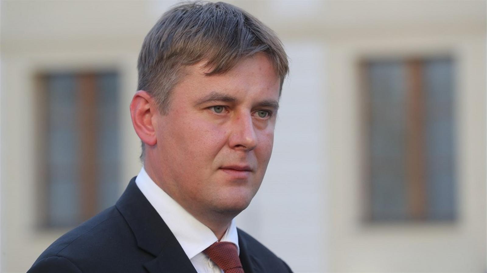 Bộ trưởng ngoại giao Séc từ chức sau những bất đồng với lãnh đạo cấp cao của Séc