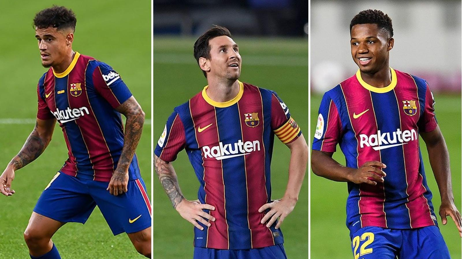 """Barca nhận """"tin dữ"""" trong giai đoạn then chốt của mùa giải"""