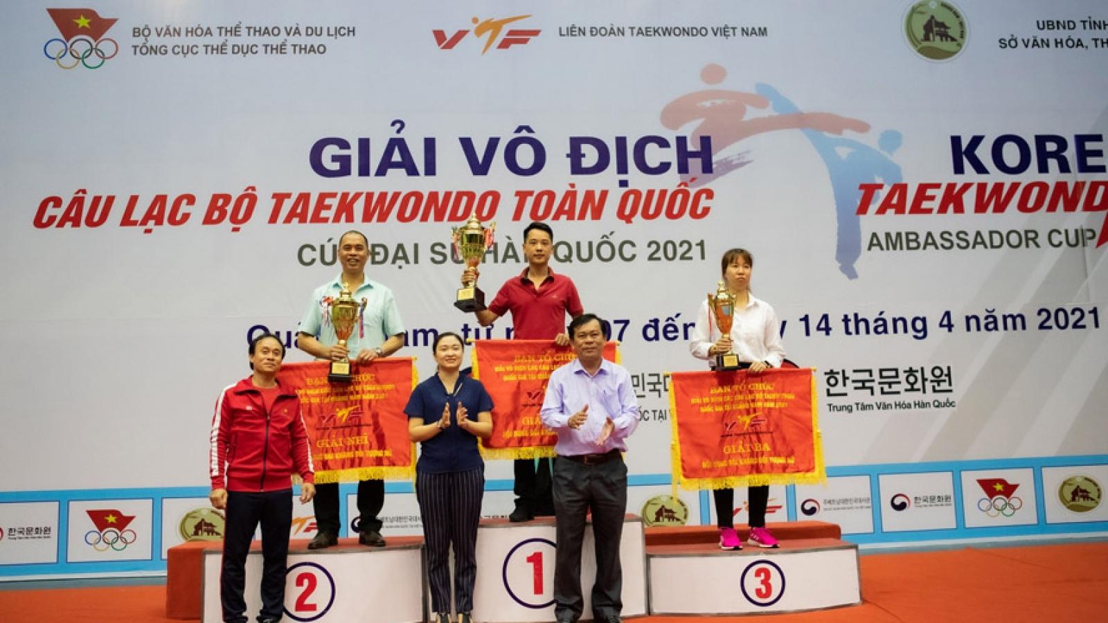 Korean Taekwondo Ambassador Cup 2021 wrapped up