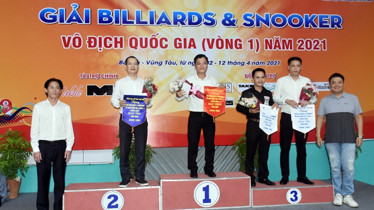 Opening round of national billiards and snooker tournament concludes