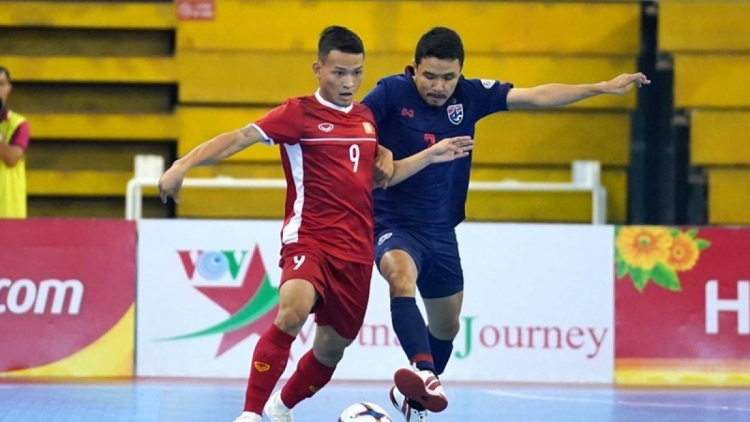 Vietnam to compete in play-off round to qualify for Futsal World Cup finals