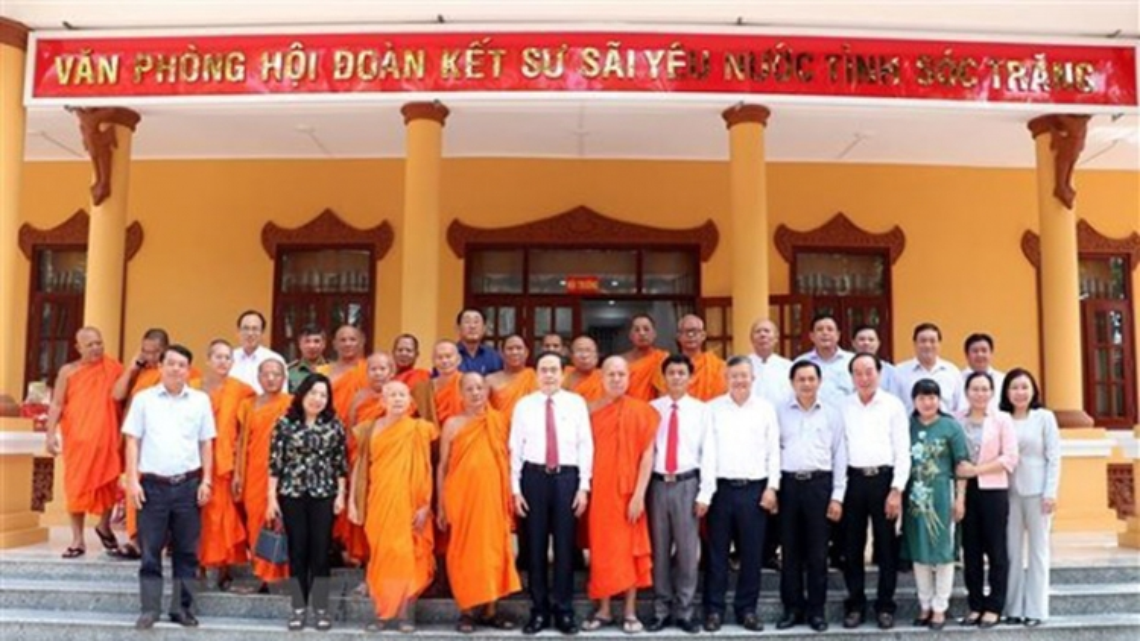 Vice NA Chairman pays Chol Chnam Thmay visit to Soc Trang