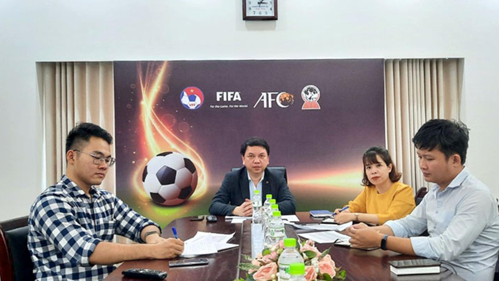 FIFA helps digitalise soccer data system in Vietnam