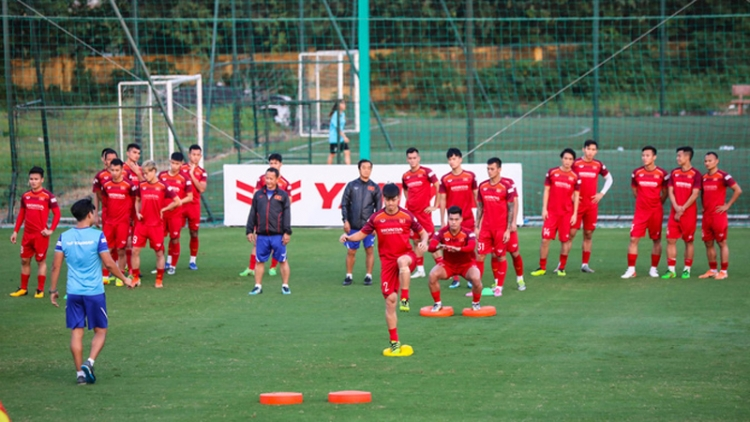 National squad to gather in Quy Nhon ahead of World Cup qualifiers