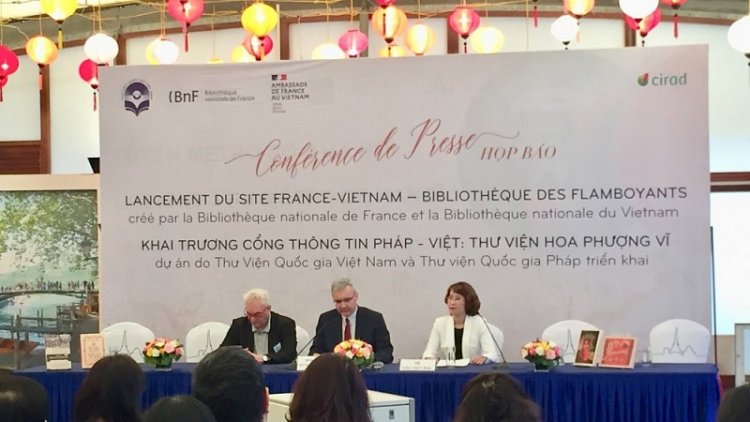 Online portal on heritage sharing between France and Vietnam inaugurated