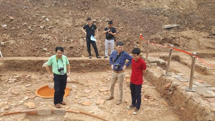 Archaeological findings expected to help accelerate restoration of Kinh Thien Palace