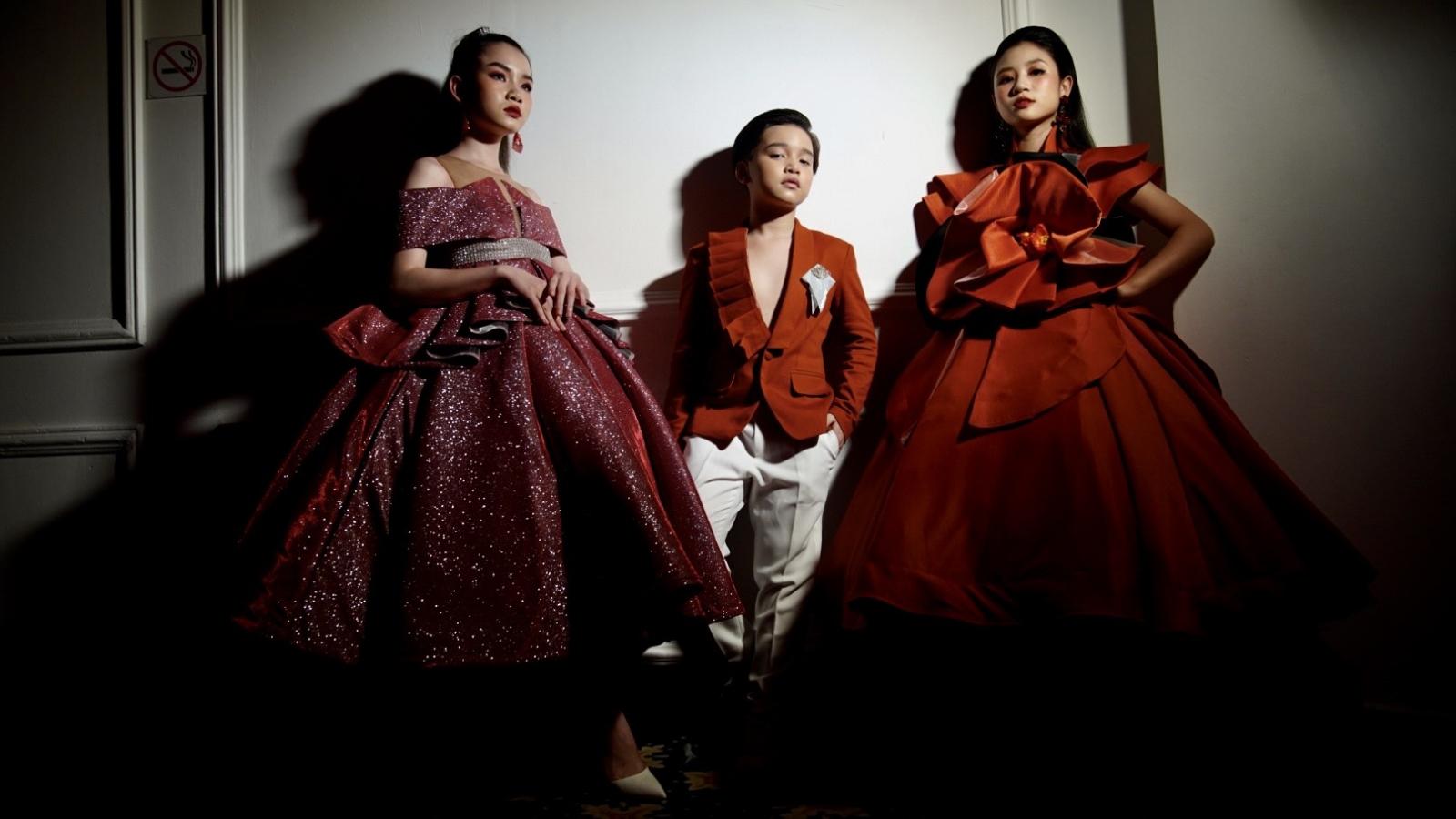 650 người mẫu nhí trình diễn tại Đại hội Siêu mẫu nhí 2021