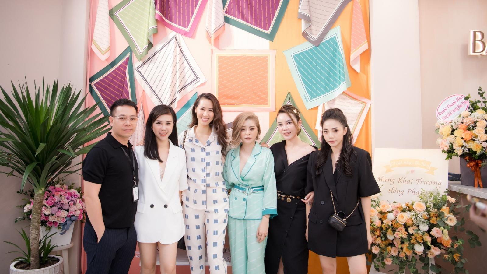 Lương Thu Trang, Dương Thùy Linh nổi bật trong pijama của NTK Thu Yến