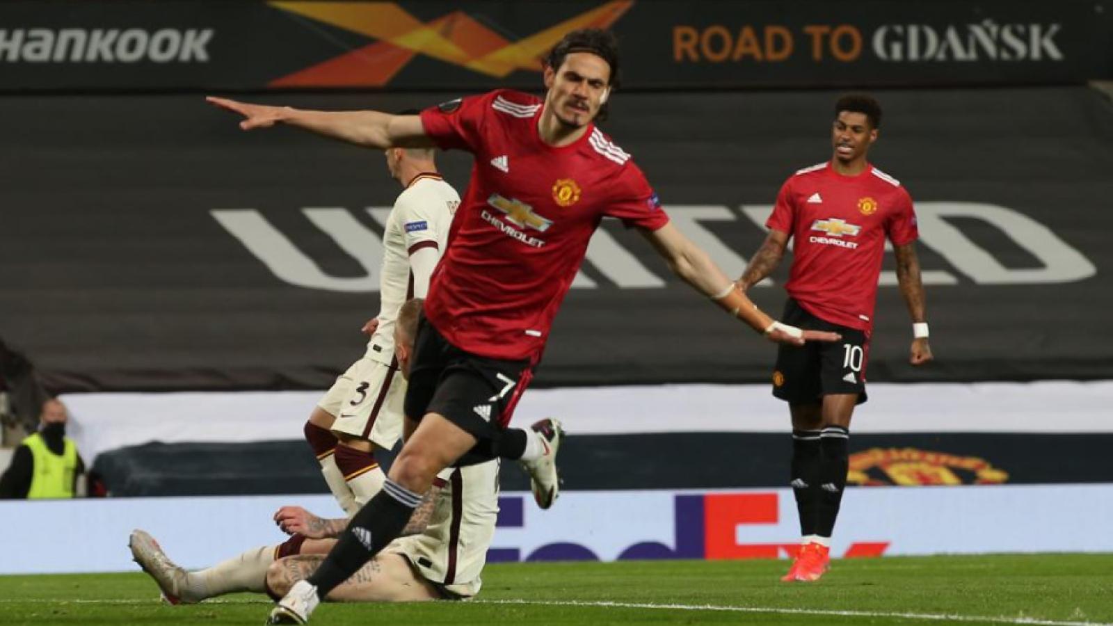 """""""Đánh tennis"""" với Roma, MU sáng cửa vào chung kết Europa League"""