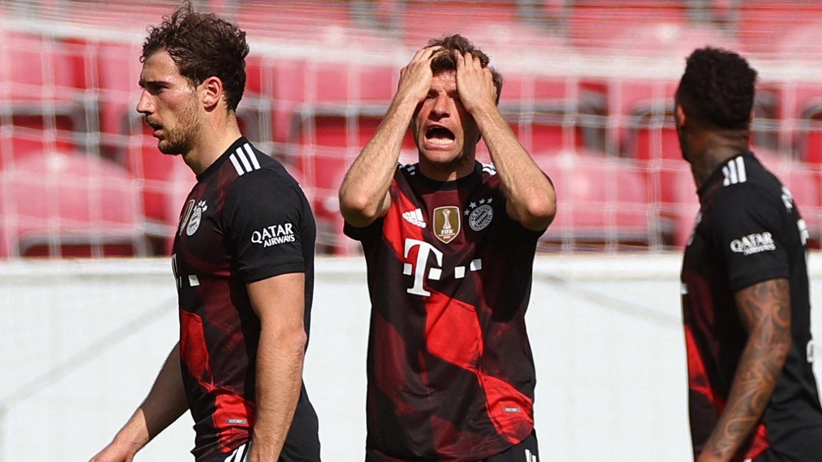 Thua sốc Mainz 05, Bayern Munich chưa thể vô địch Bundesliga