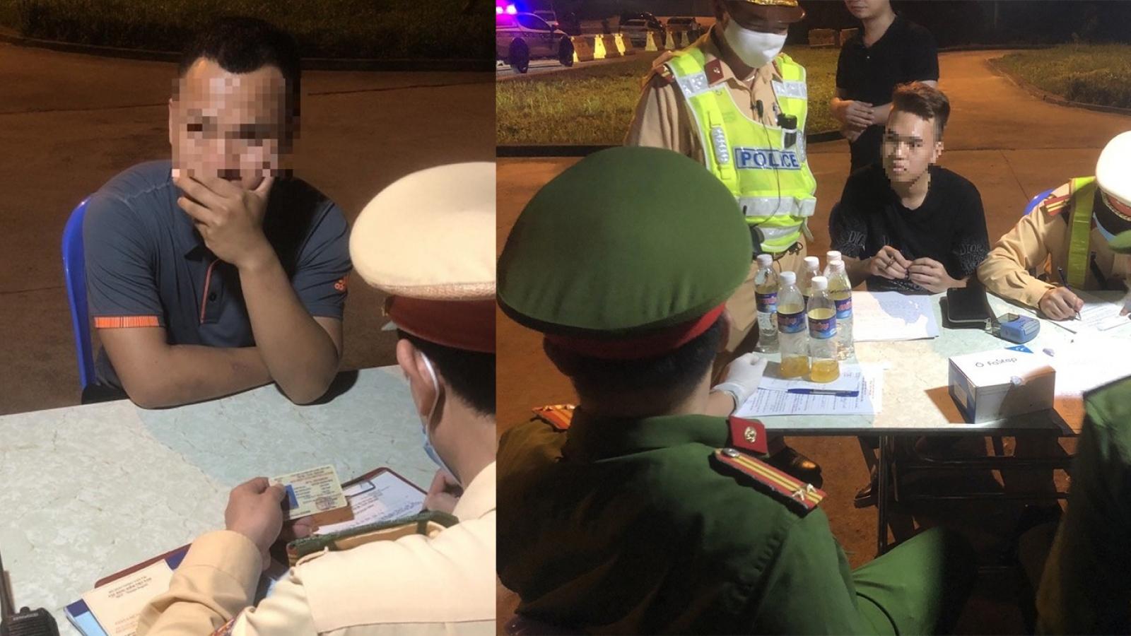 Phát hiện hai lái xe dương tính với ma túy trên cao tốc Hà Nội - Hải Phòng - Quảng Ninh