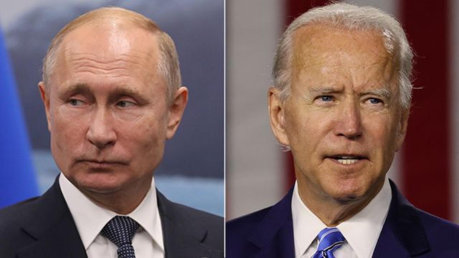 Ông Biden điện đàm với ông Putin, đề xuất cuộc gặp thượng đỉnh