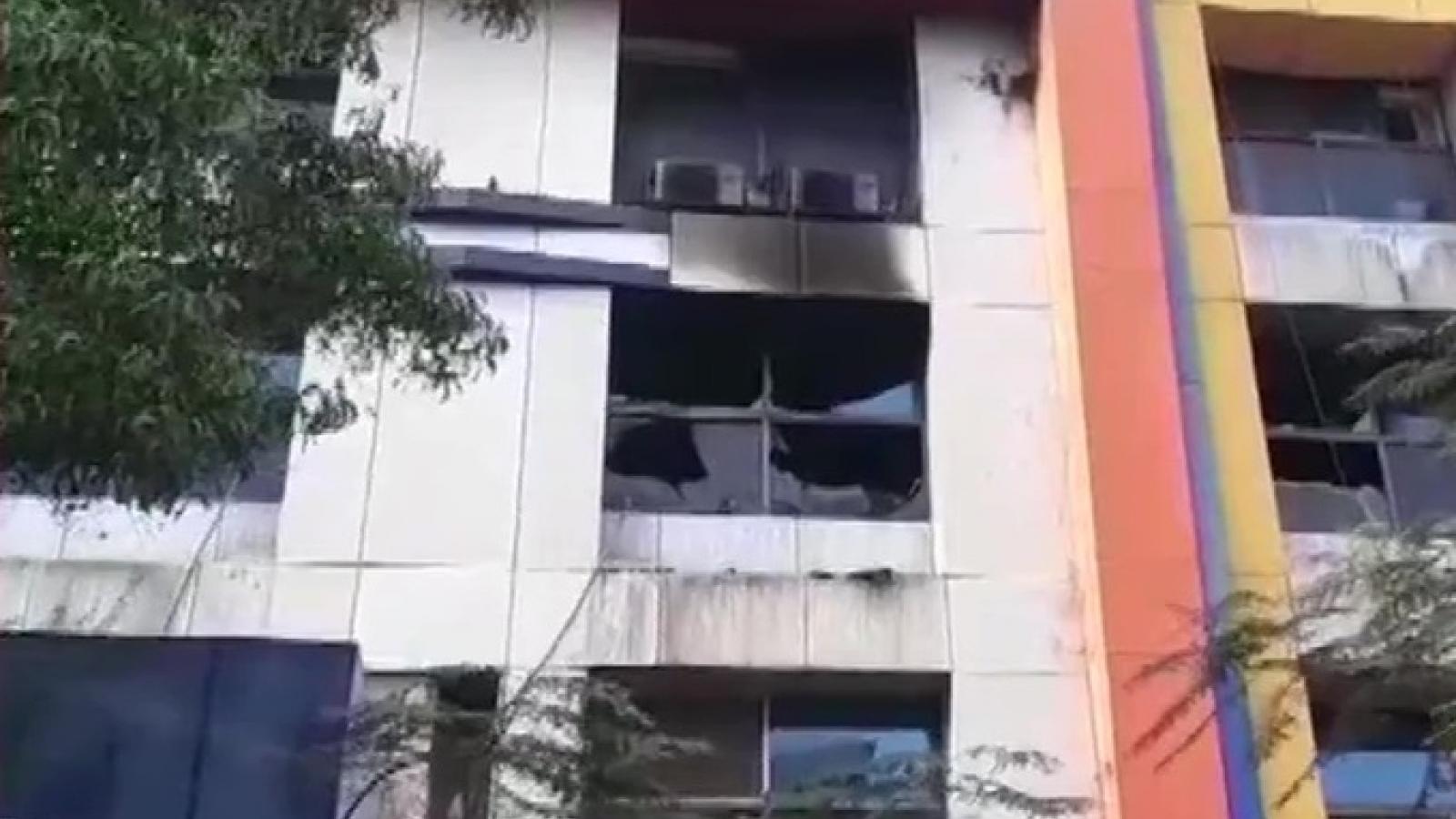 Cháy bệnh viện ở Ấn Độ, 13 bệnh nhân Covid-19 tử vong