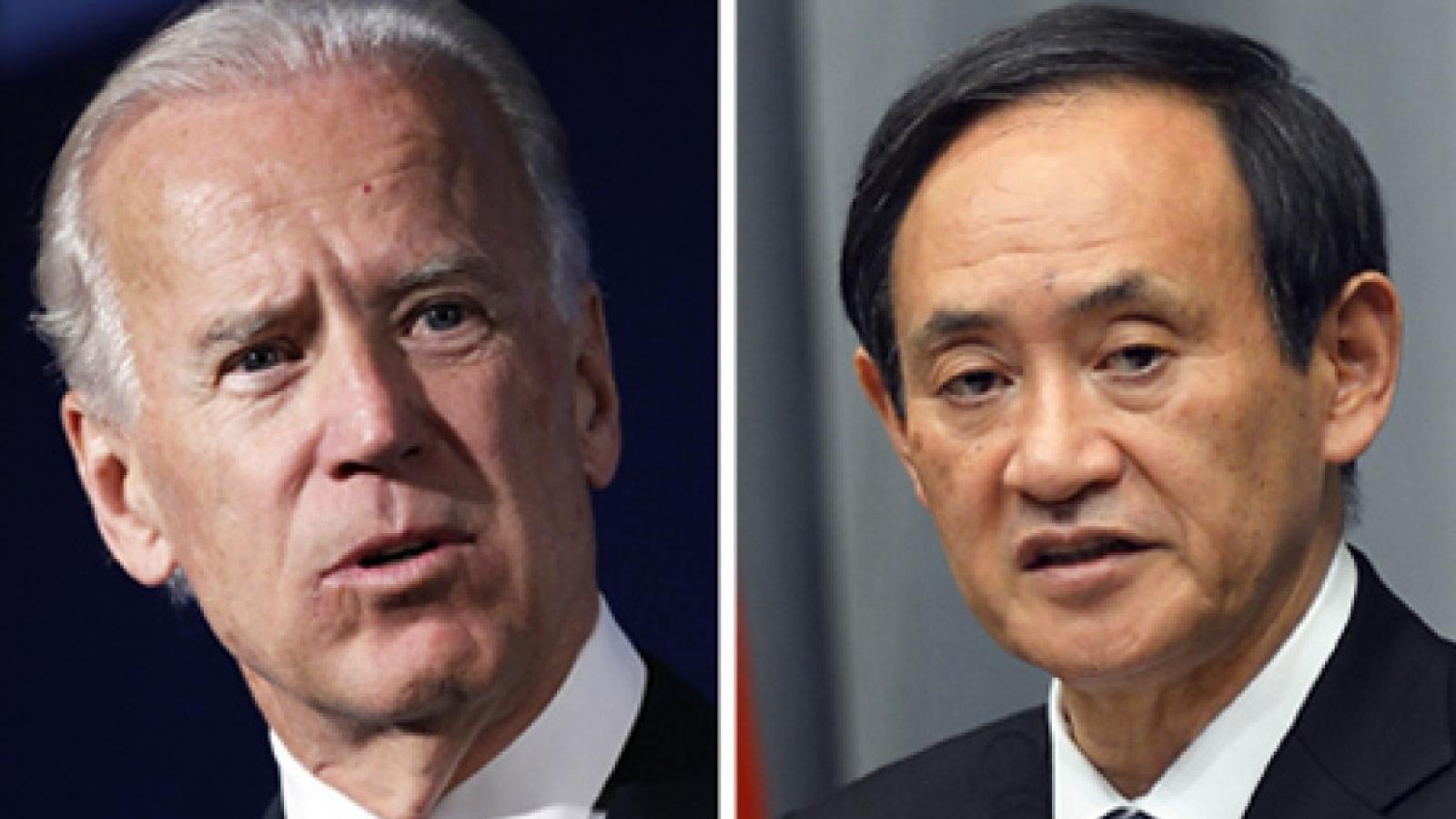 Mỹ, Nhật Bản củng cố quan hệ đồng minh dưới thời Joe Biden và Suga Yoshihide