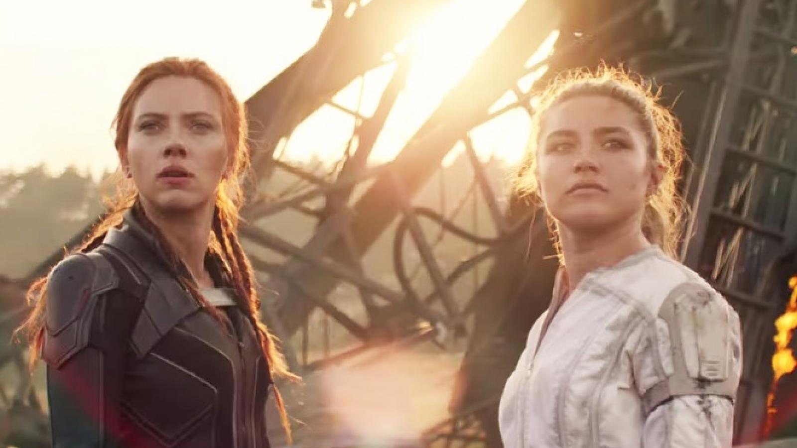Marvel tung trailer mới hé lộ quá khứ của Black Widow