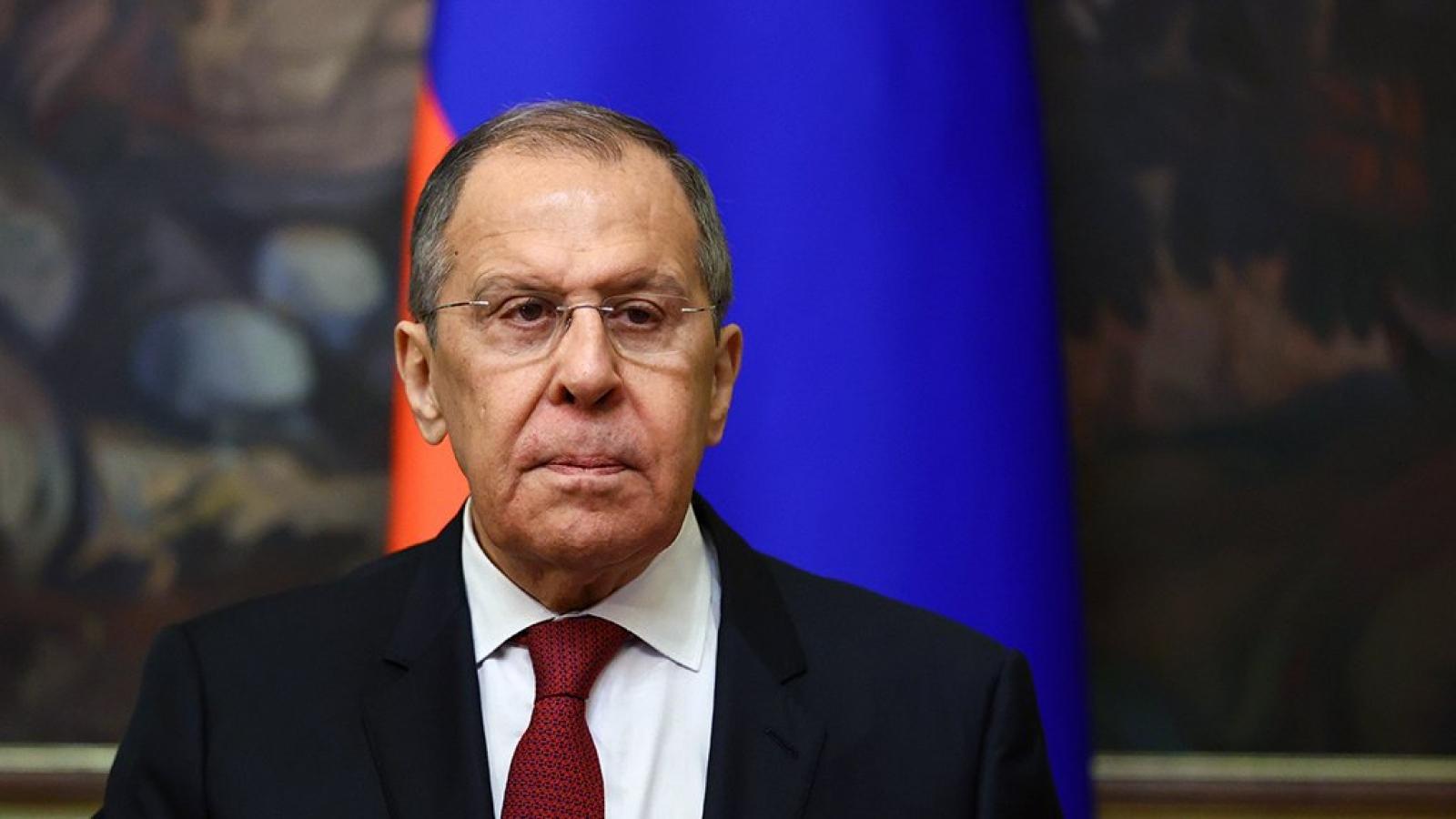"""Ngoại trưởng Nga Sergei Lavrov: Quan hệ Nga-Mỹ xấu hơn thời """"Chiến tranh lạnh"""""""