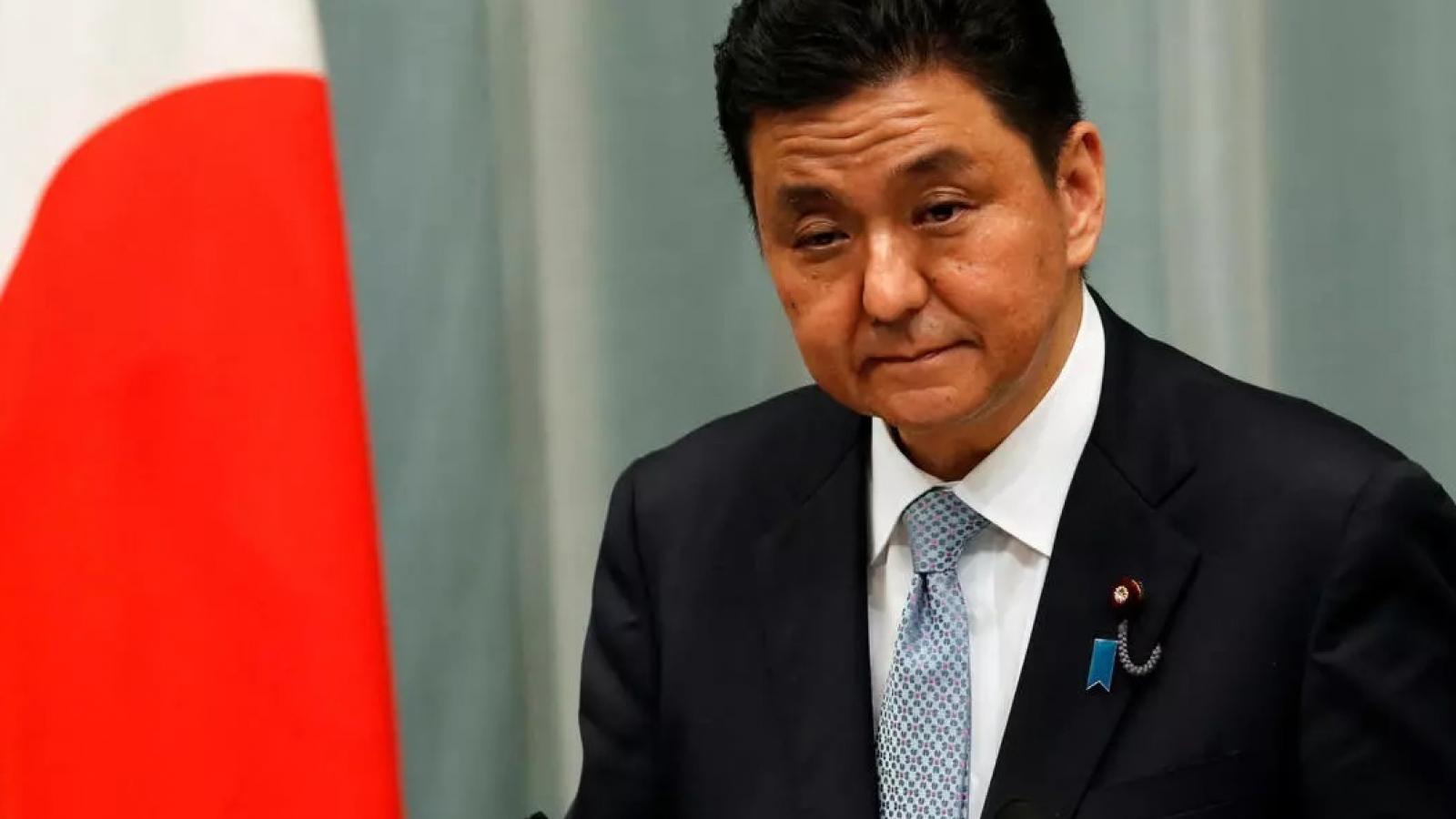 Lãnh đạo quốc phòng Nhật Bản và Malaysia quan ngại về luật hải cảnh Trung Quốc