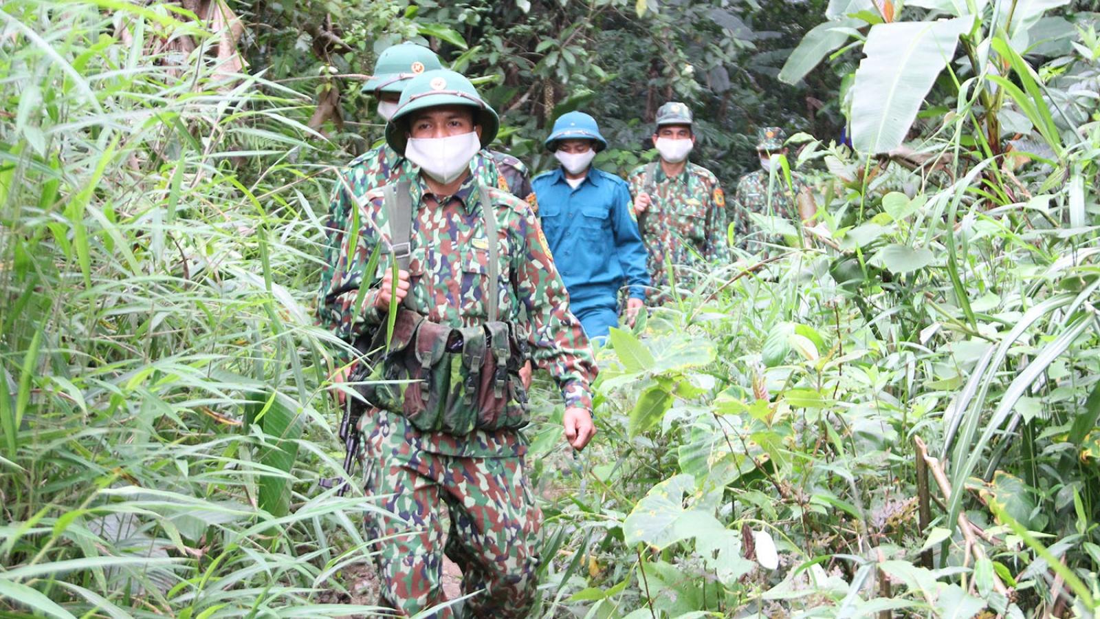 Quảng Nam tăng cường kiểm soát biên giới, phòng chống dịch Covid-19