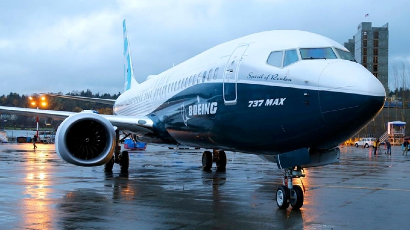 """Chính thức """"cấp phép"""" cho Boeing B737 Max bay qua bầu trời Việt Nam"""