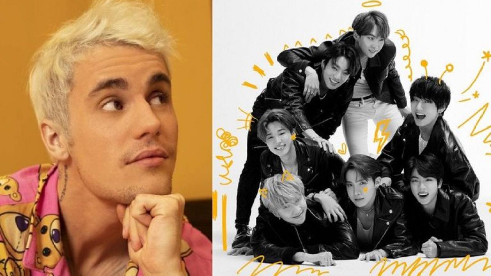 Justin Bieber chia sẻ mong muốn làm nên lịch sử cùng BTS