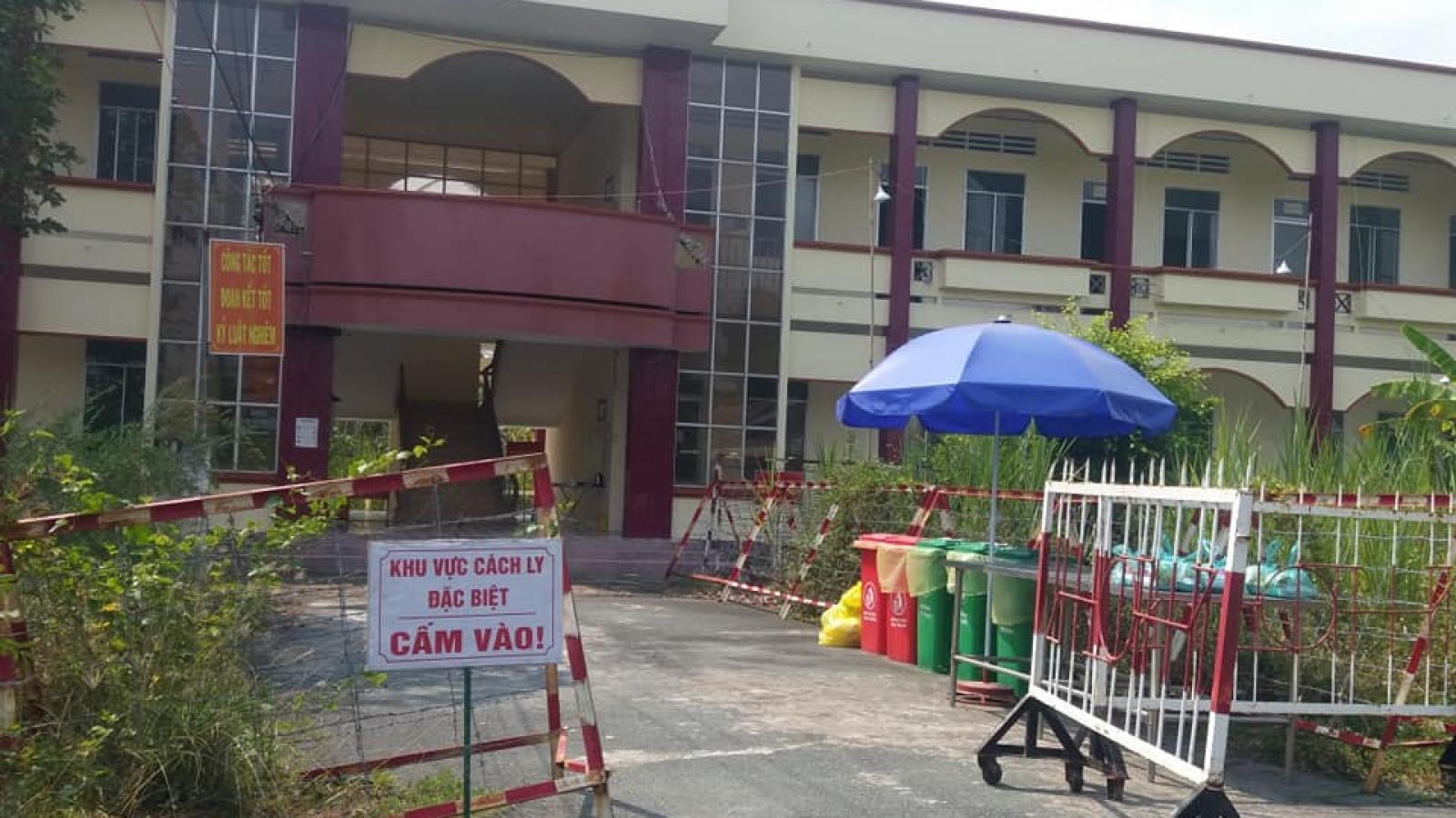 Người lính quân y tại Bệnh viện Dã chiến Tiền Giang