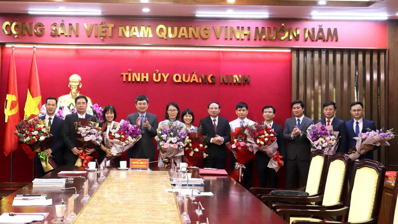 Quảng Ninh bổ nhiệm 3 lãnh đạo cấp Sở thông qua thi tuyển