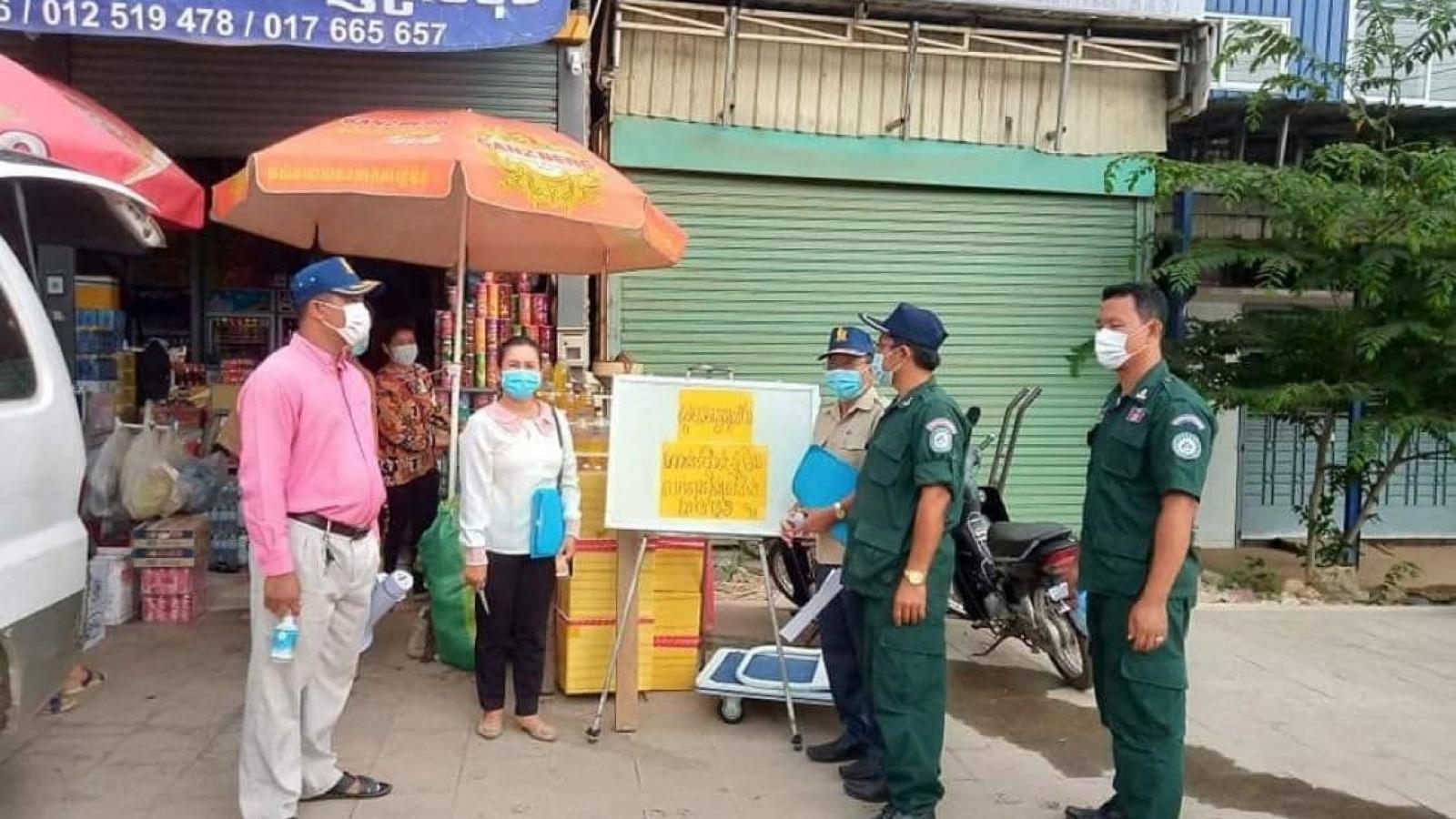 Campuchia phong tỏa hoàn toàn thành phốSihanoukville
