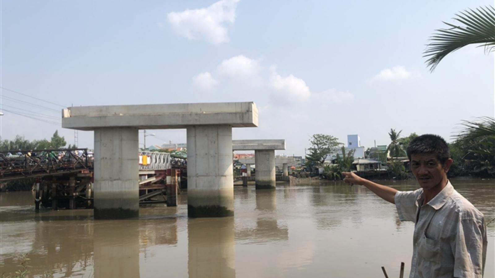 """Cận cảnh cây cầu """"đắp chiếu"""" hơn 20 năm ở TP.HCM"""
