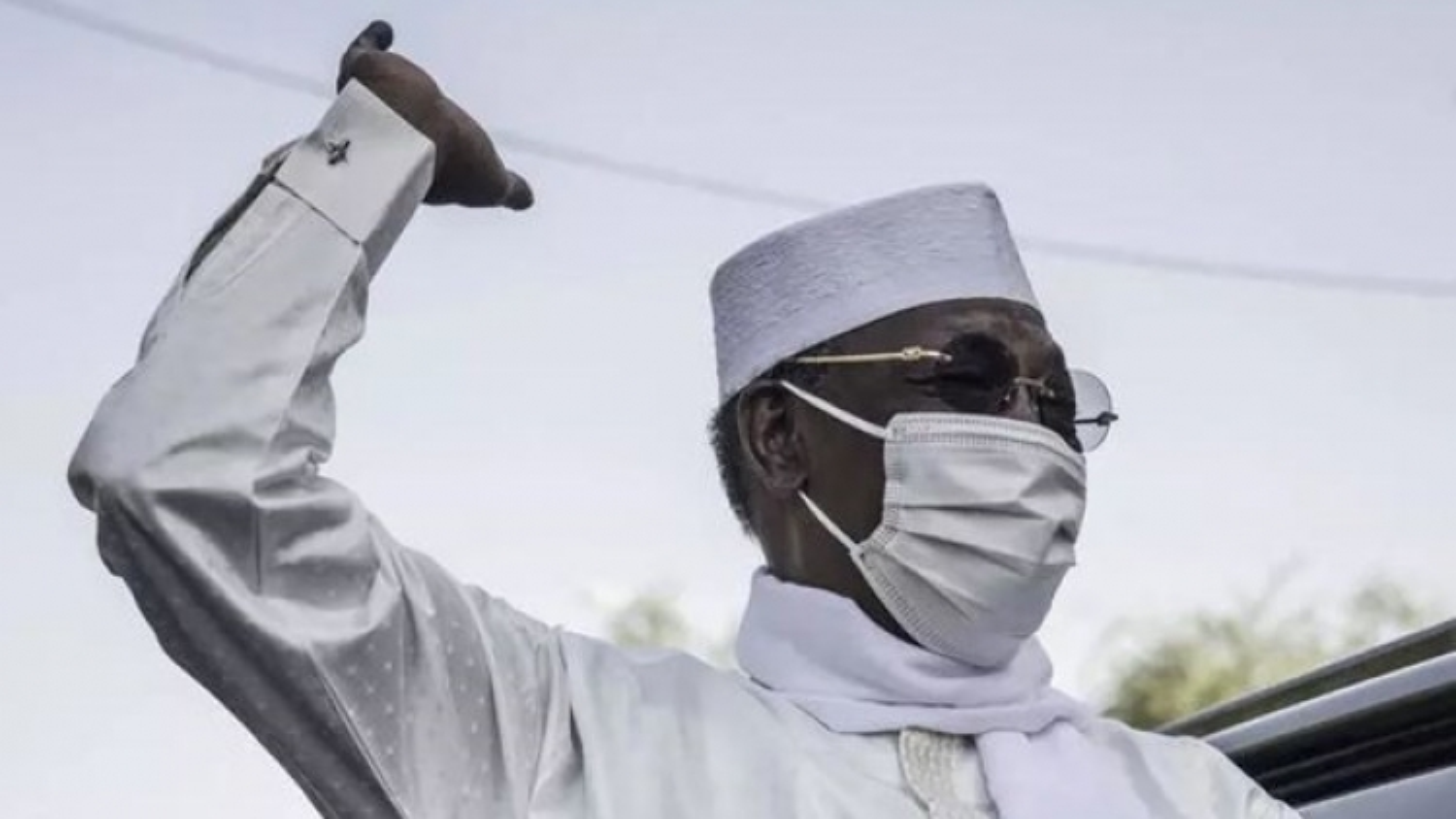 Mới tái đắc cử 1 ngày, Tổng thống Cộng hòa Chad đột ngột qua đời ở chiến trường